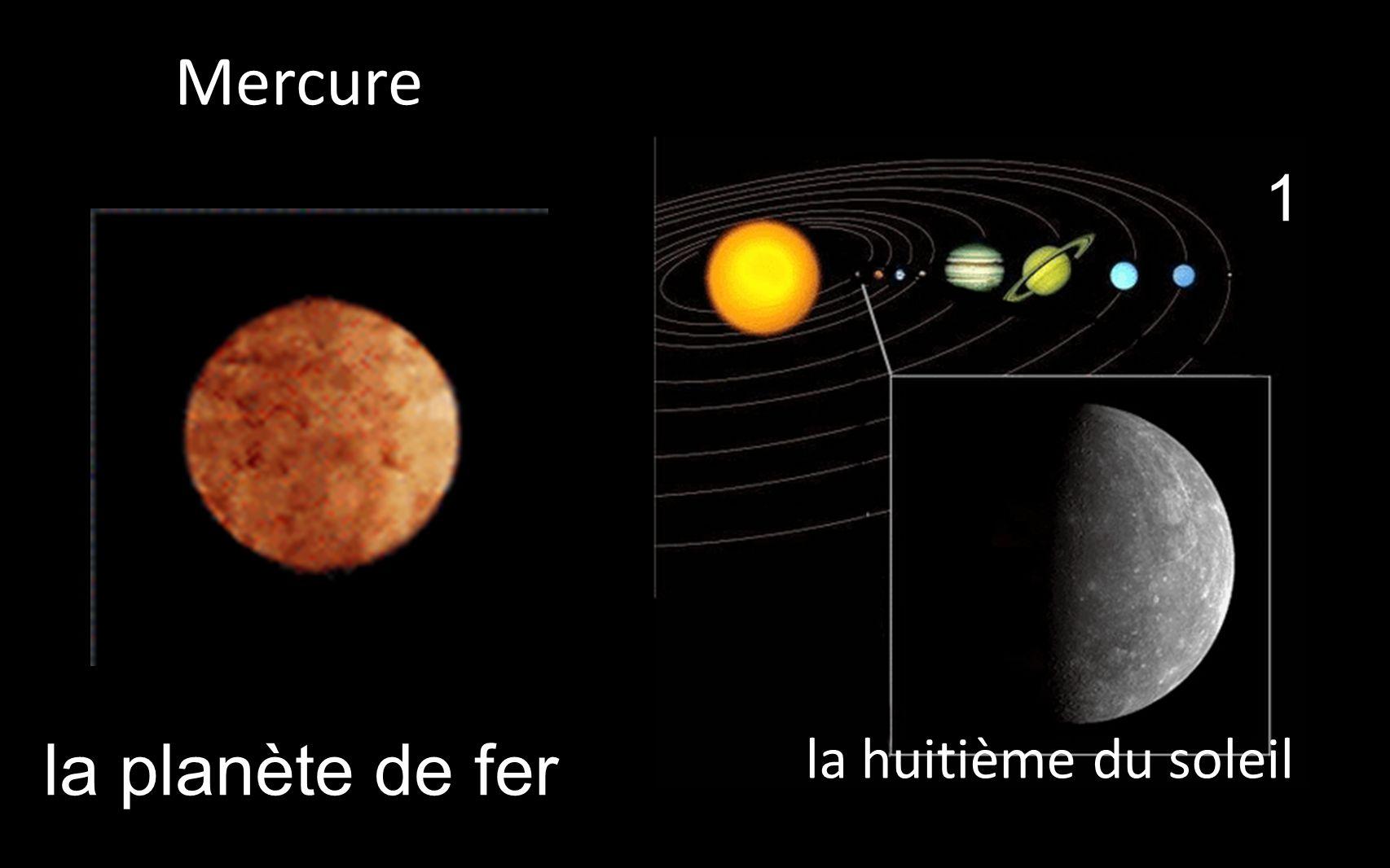 _ Mercure la planète de fer la huitième du soleil 1