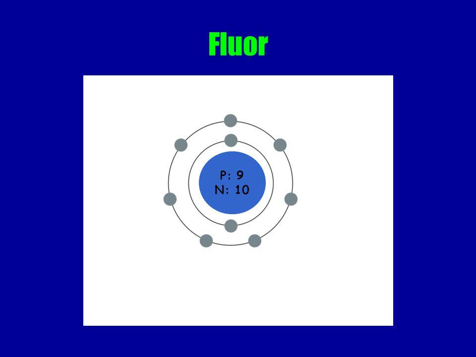 Fluor P: 9 N: 10