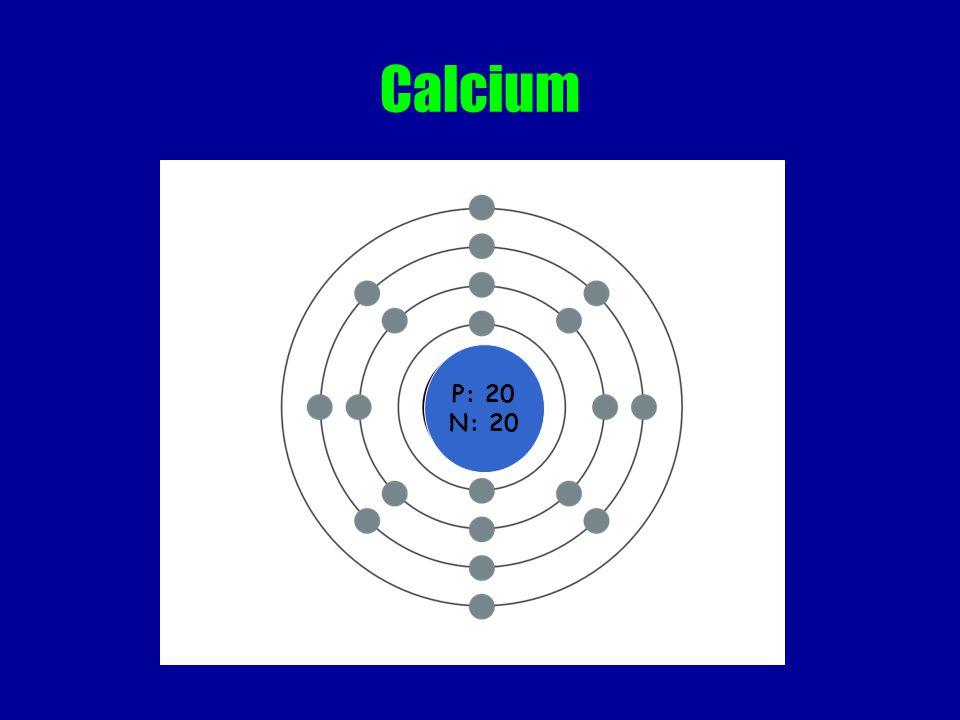 Calcium P: 20 N: 20