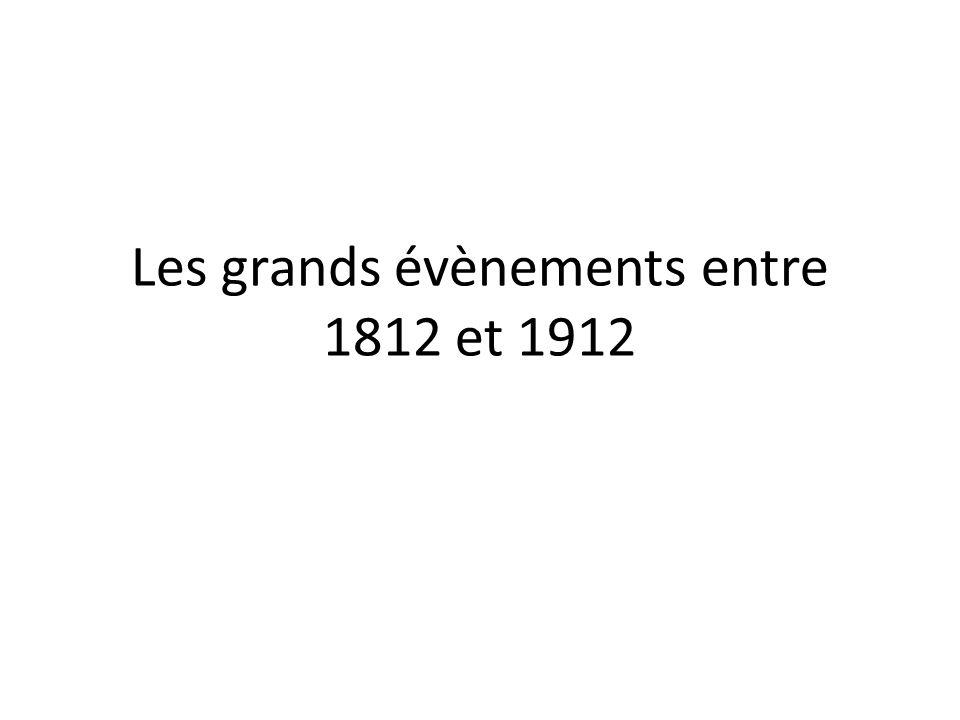 181018201830 1840 1829 La mort de Shawnandithit 1832 Louverture du Rideau Canal 1835 Liberté de la presse est établi en Nouvelle Écosse par Joseph Howe 1837 La rébellion de Haut Canada 1837 La rébellion de Bas Canada