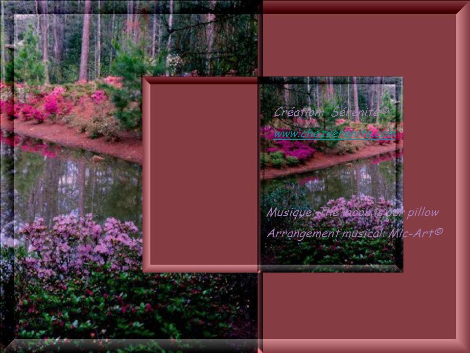 Cliquez pour débuter Avec, au plus profond du cœur de ce jardin, une infinie tendresse, claire comme leau de la fontaine au printemps, lumineuse comme