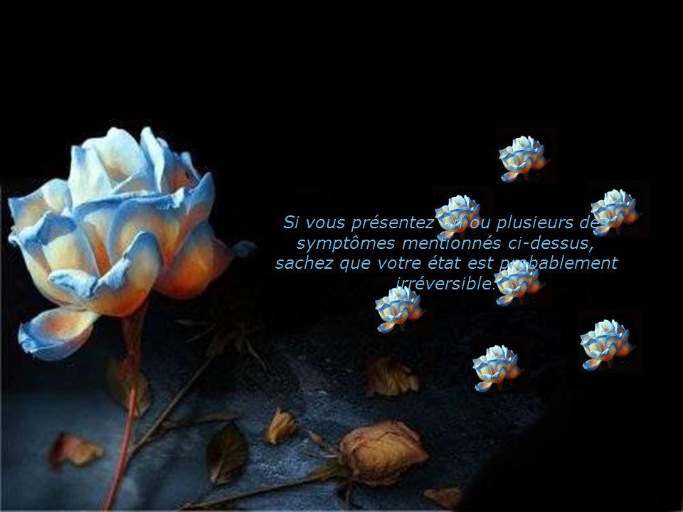 Une capacité de plus en plus grande à aimer les autres aussi bien que soi-même et une envie d'aimer de plus en plus forte.
