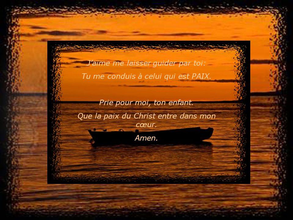 Jaime te prier et tentendre me dire: « Grâce et paix de la part de Dieu. »