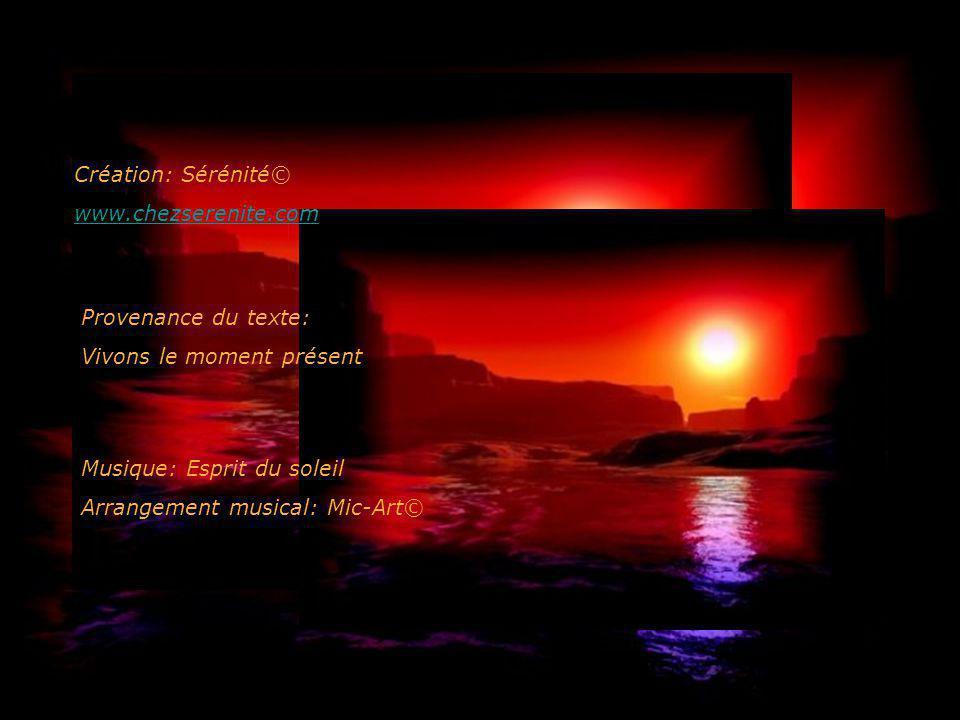 9ème secret: Chérissez le divin en vous. Cela signifie que vous êtes Dieu créateur de votre vie et du monde dans lequel vous vivez... 10ème secret: La