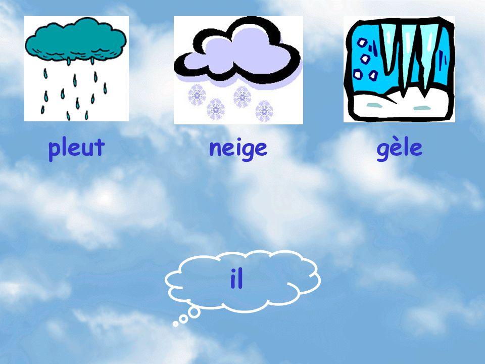 il pleutgèleneige