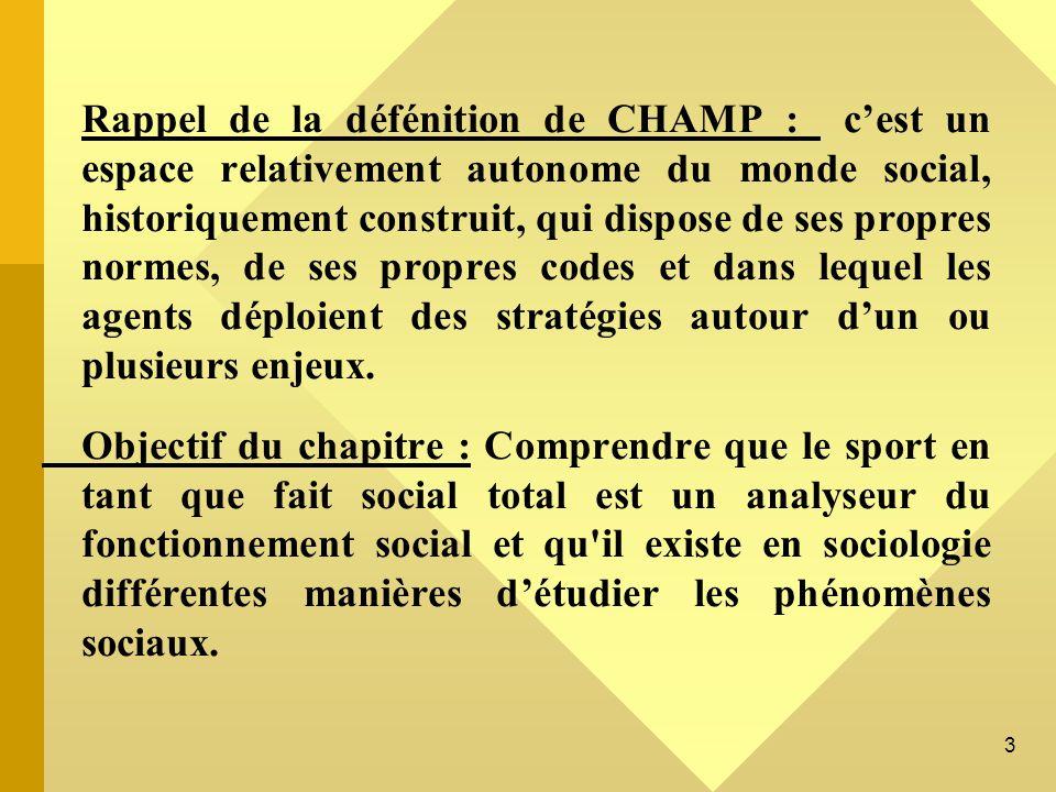 4 PLAN 1) Les dérives du sport (CM1) 2) Les relations entre sport et politique (CM2) 3)Les relations entre sport et médias (CM3)