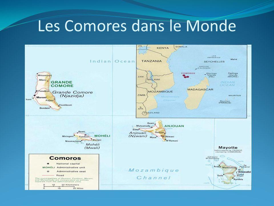 Les Comores dans le Monde