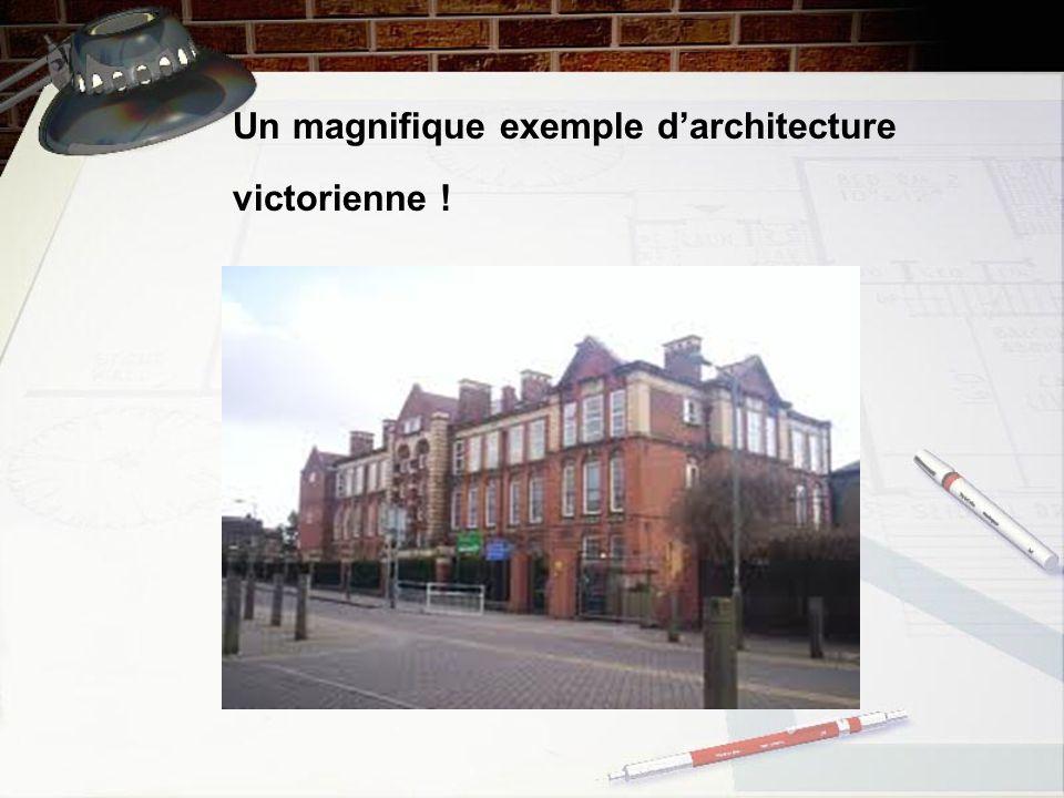 Un magnifique exemple darchitecture victorienne !