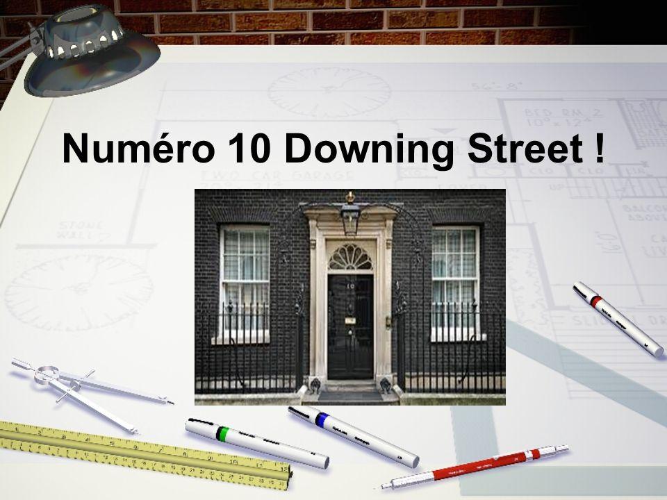 Numéro 10 Downing Street !