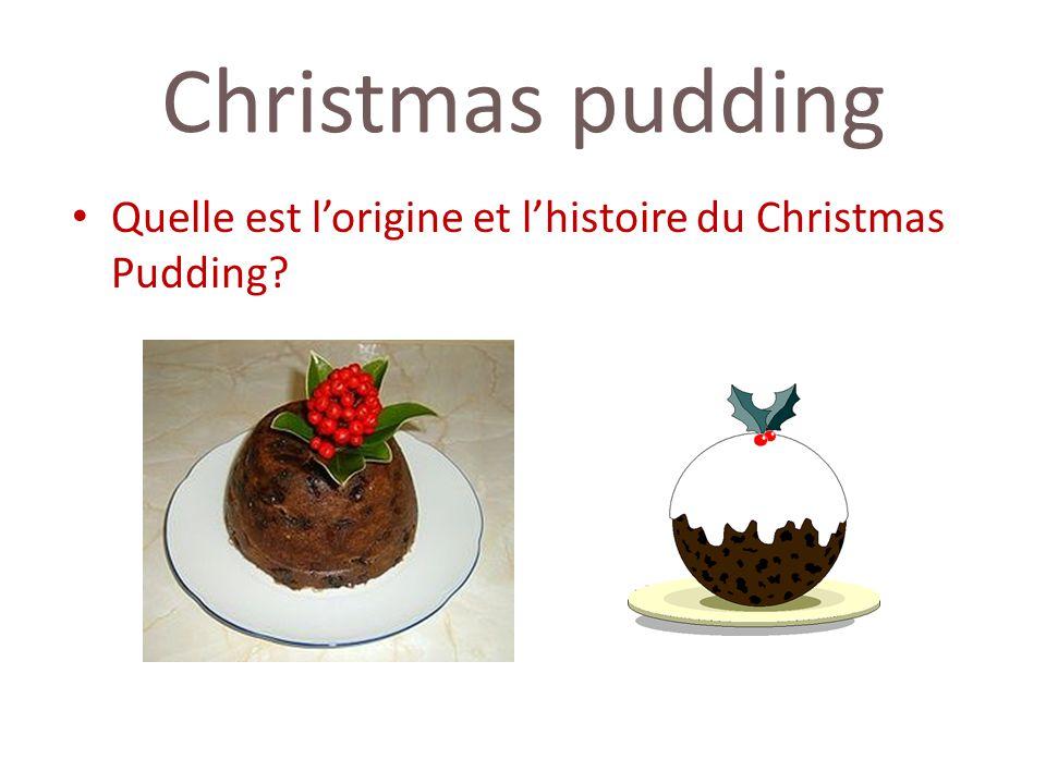 Christmas pudding Quelle est lorigine et lhistoire du Christmas Pudding?