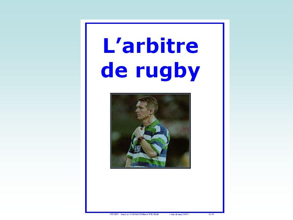 La Coupe du Monde de Rugby 3/ Les postes Une équipe se compose de 22 joueurs : 15 sur le terrain et 7 remplaçants.