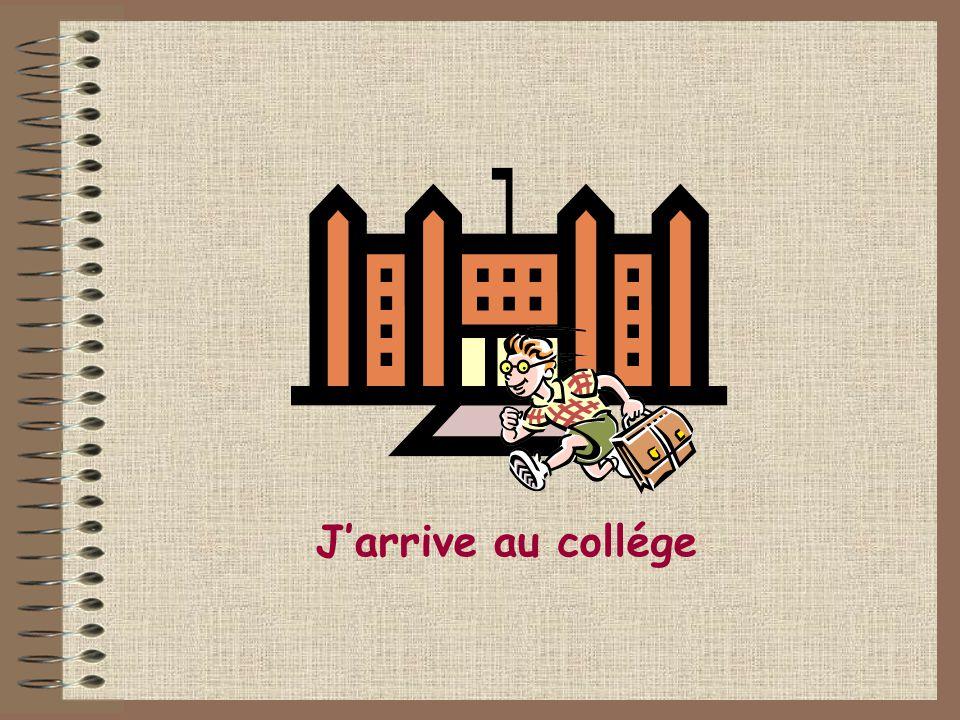 1.Jarrive au collège à neuf heures et demie. ___________________ 9.309.30 12.2512.25 10.0010.00 2.