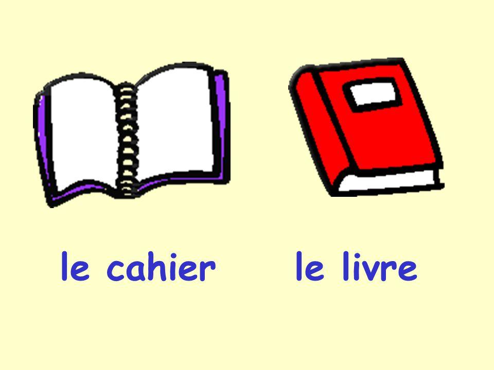 le cahierle livre
