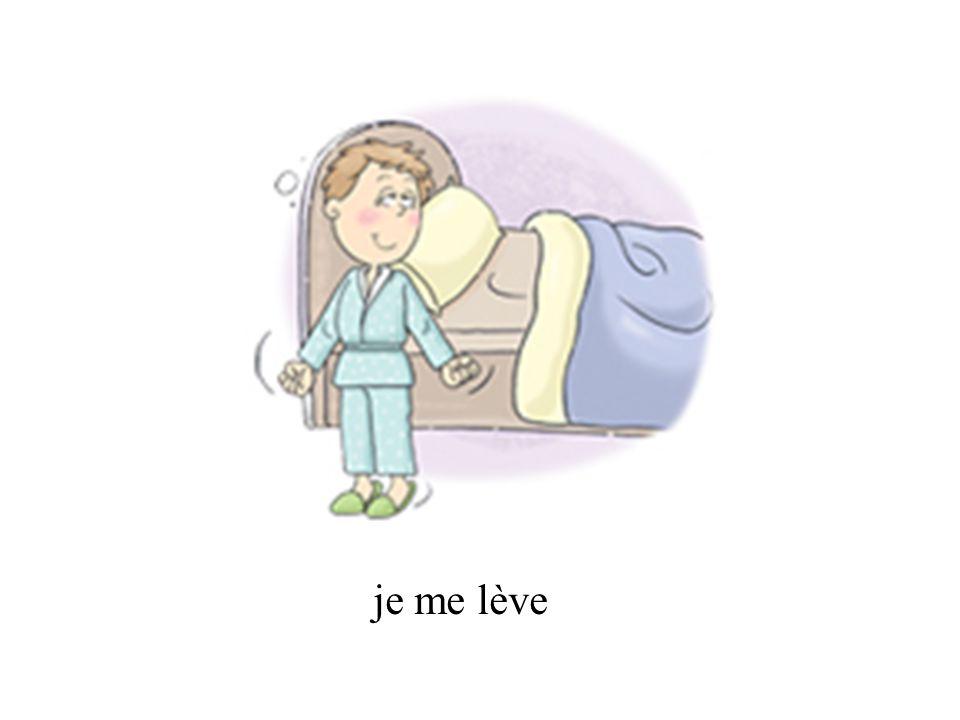 In the perfect tense, reflexive verbs take être.
