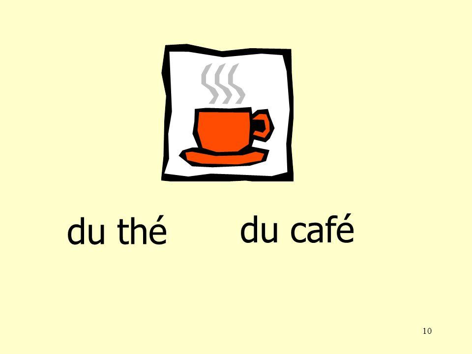 9 du café du jus dorange