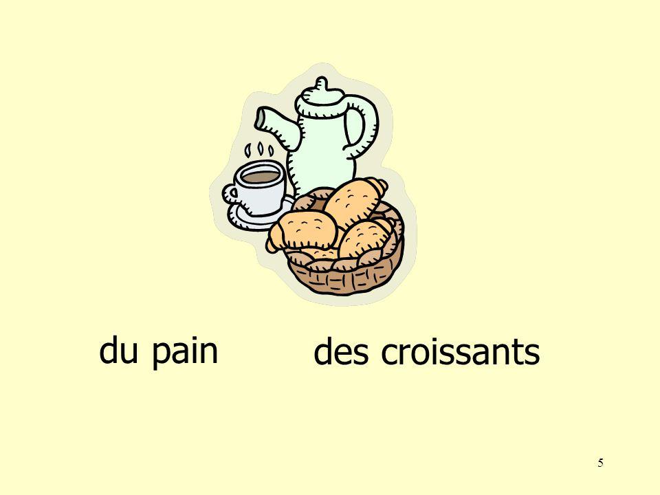 4 du pain des croissants