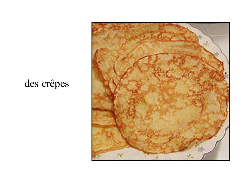 des crêpes