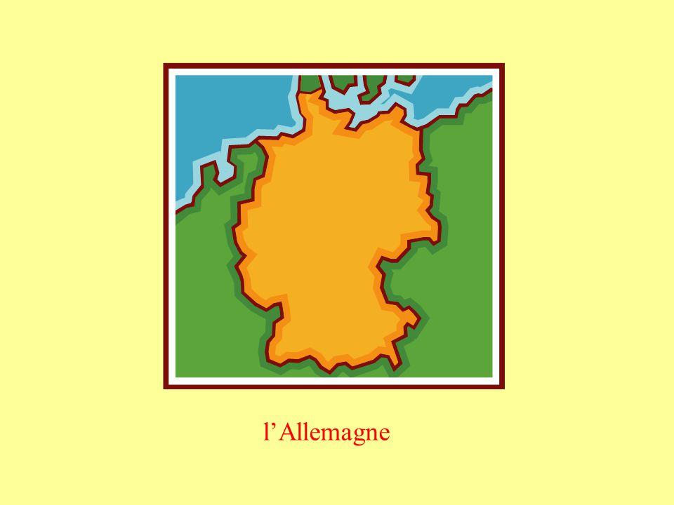 To say you live in a masculine country, use au: au Pays de Galles au Portugal To say you live in a feminine country, use en: en Allemagne en Angleterre en Autriche en Ecosse en Espagne en France en Grèce en Irlande en Irlande du Nord en Italie The pronouns au and en