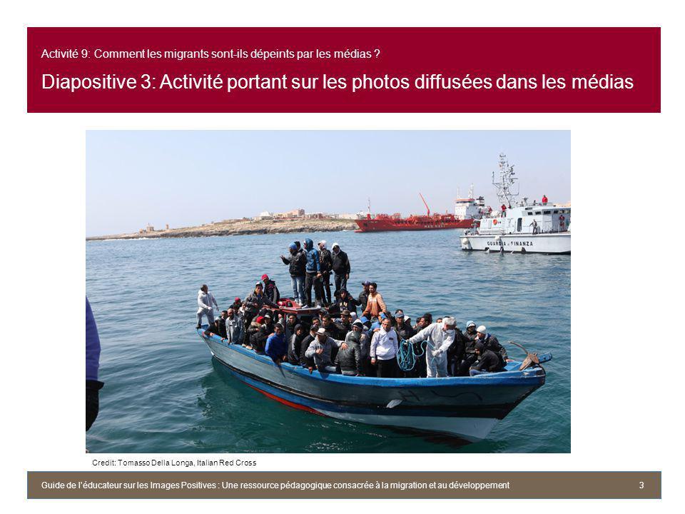 Activité 9: Comment les migrants sont-ils dépeints par les médias .