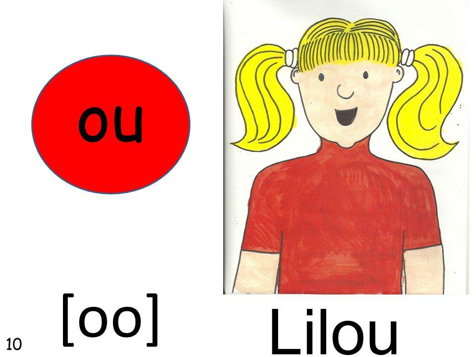 Lilou ou [oo] 10
