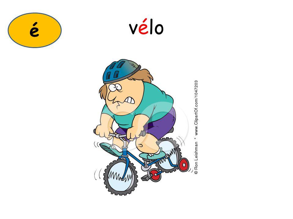 vélo é