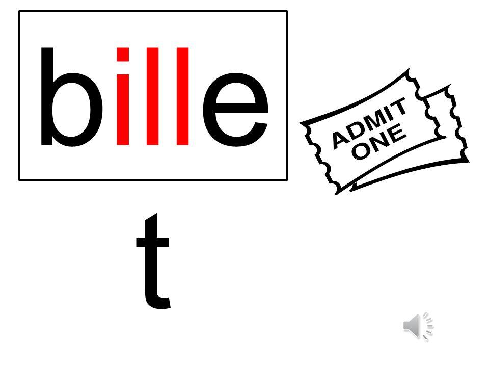 bille t