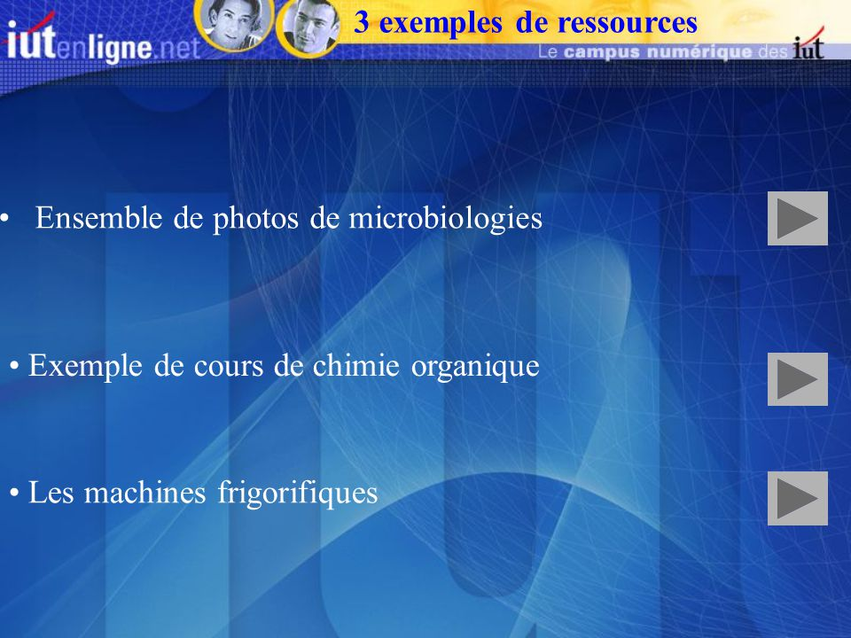Ensemble de photos de microbiologies Exemple de cours de chimie organique Les machines frigorifiques 3 exemples de ressources