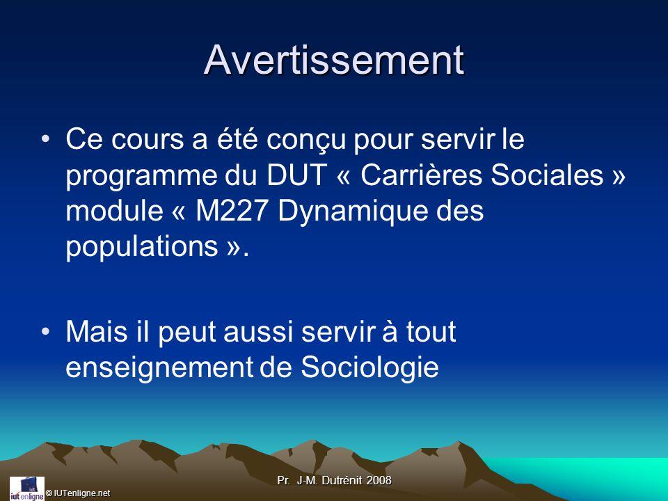 © IUTenligne.net Pr.J-M. Dutrénit 2008 Société de Castes (Inde) C.