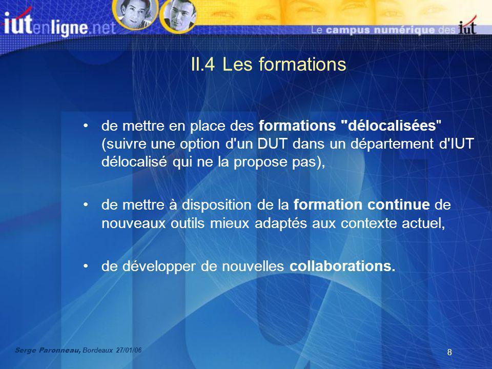 9 II.5 Lorganisation La conduite du projet repose sur un comité de pilotage.