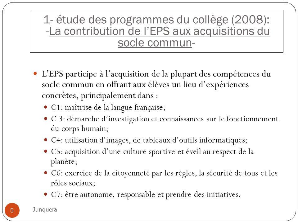LEPS participe à lacquisition de la plupart des compétences du socle commun en offrant aux élèves un lieu dexpériences concrètes, principalement dans