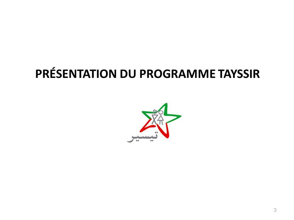 PRÉSENTATION DU PROGRAMME TAYSSIR 3