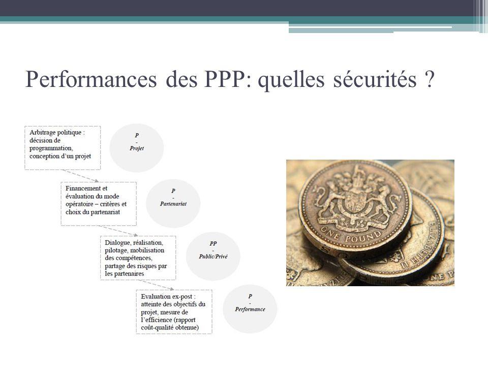 Performances des PPP: quelles sécurités ?