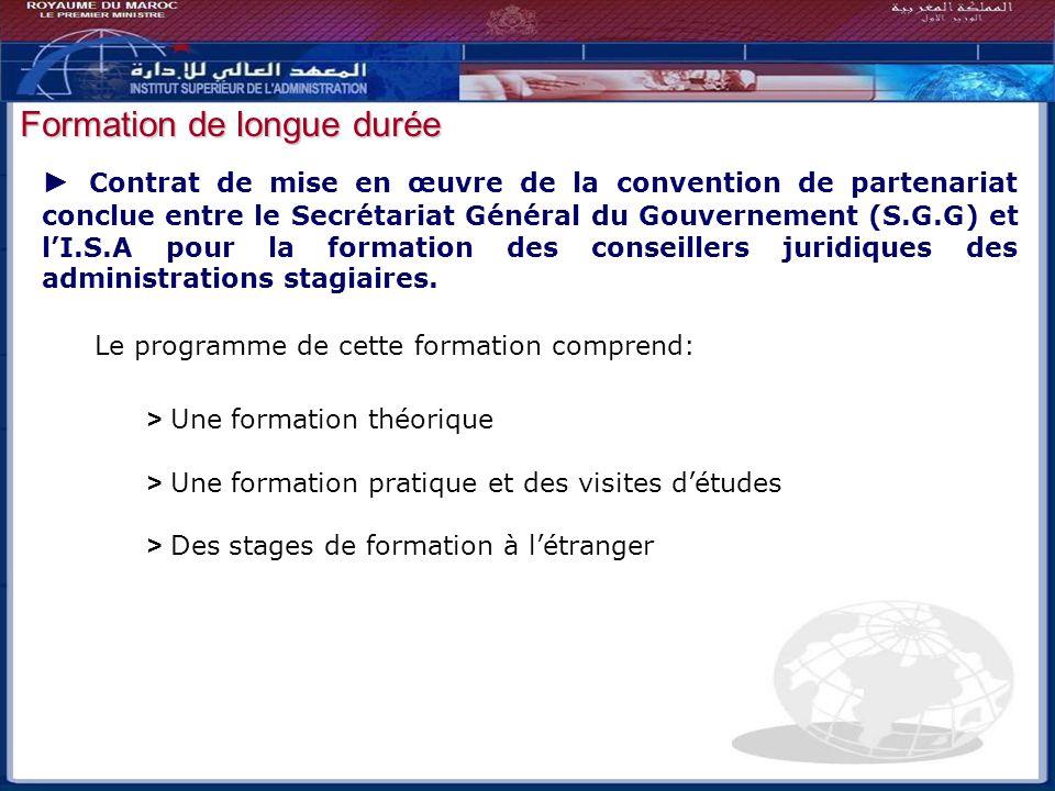 Bilan - Perspectives Contrat de mise en œuvre de la convention de partenariat conclue entre le Secrétariat Général du Gouvernement (S.G.G) et lI.S.A p