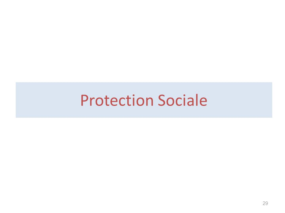 Protection Sociale 29