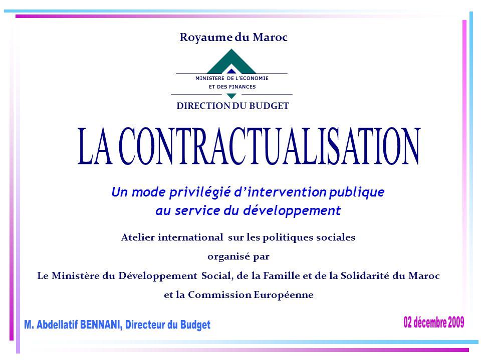 Atelier international sur les politiques sociales organisé par Le Ministère du Développement Social, de la Famille et de la Solidarité du Maroc et la