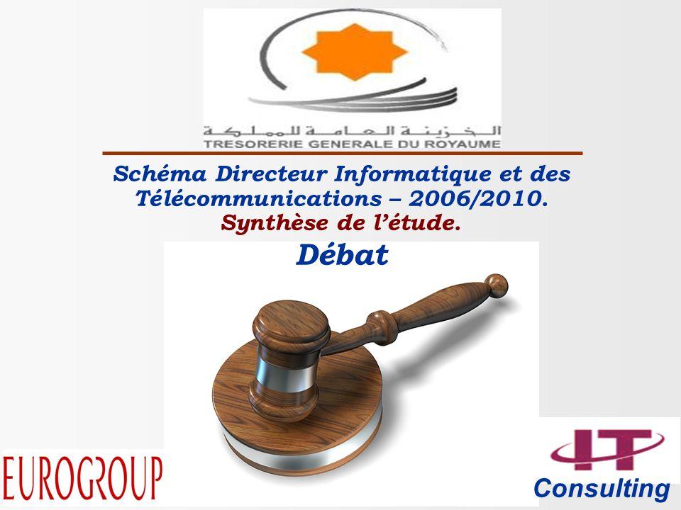Consulting Schéma Directeur Informatique et des Télécommunications – 2006/2010.