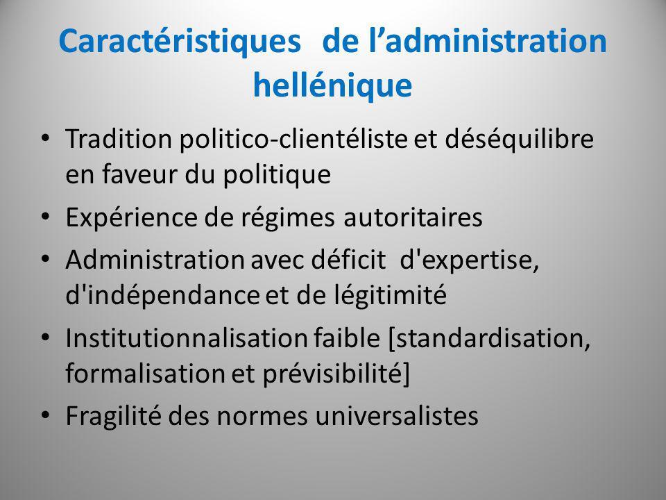 Les défis de la reforme administrative Démocratisation et modernisation Construire une fonction publique professionnelle.