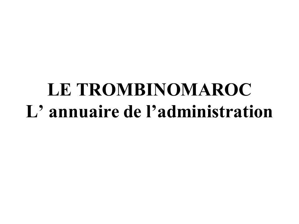 1.revue mensuelle administration 2. constitution dune base de données uniforme 3.