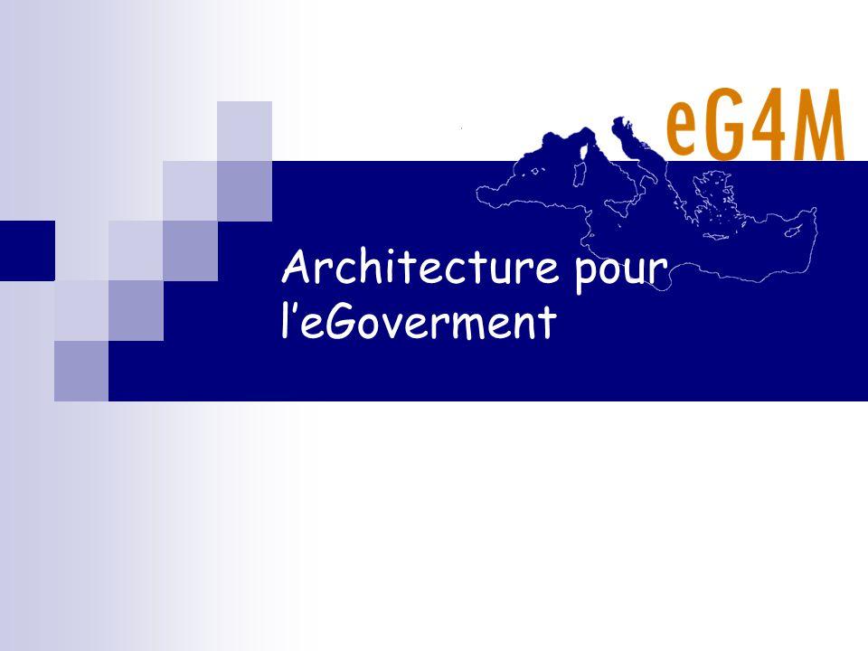 Architecture pour leGoverment