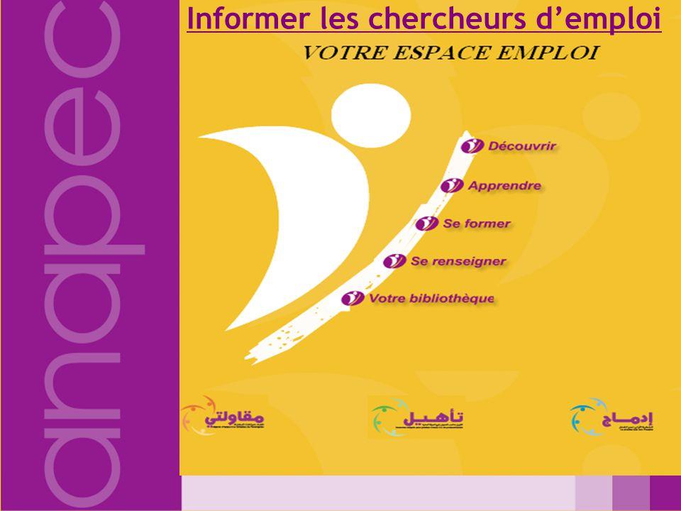 Déposer CV – Inscription on-line Actualisation