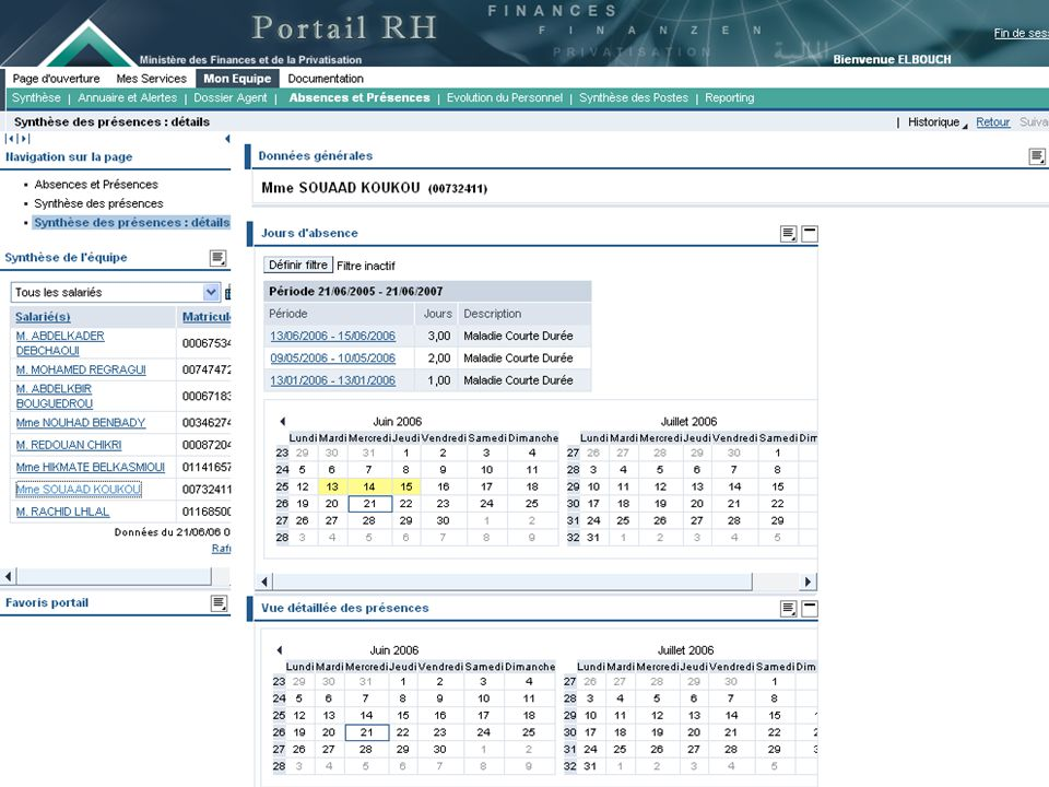 23 E.Services Portail intranet du Minist è re: http://maliya.finances.gov.ma Supports: Portail Internet du Minist è re: http://www.finances.gov.ma