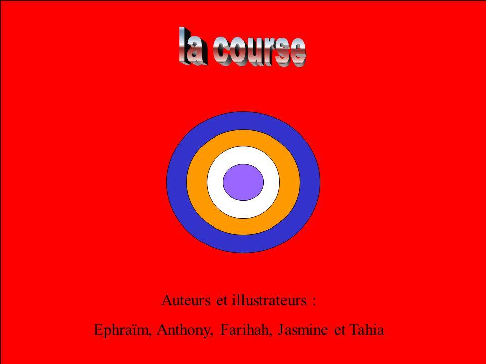 Auteurs et illustrateurs : Ephraïm, Anthony, Farihah, Jasmine et Tahia