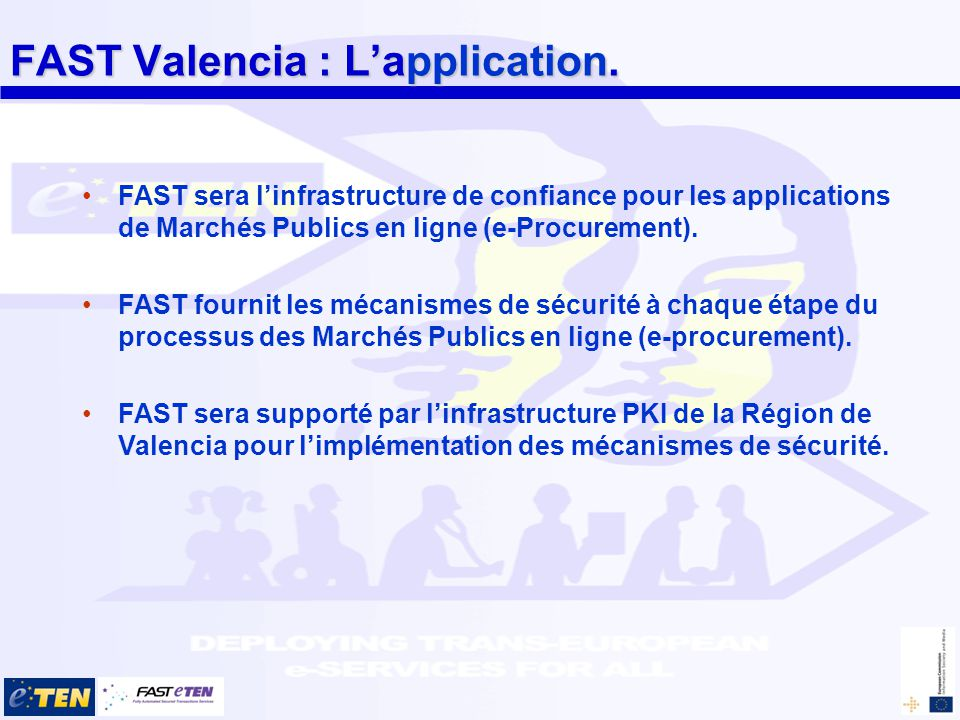 FAST Valencia : Lapplication.
