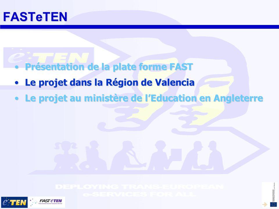 Valencia FAST utilisé comme infrastructure d échanges sécurisés entre les entreprises et la plateforme de marchés publics