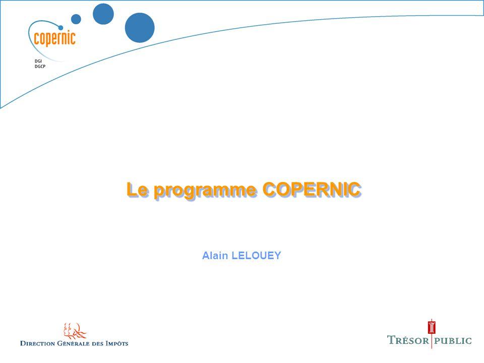 1 Le programme COPERNIC Alain LELOUEY