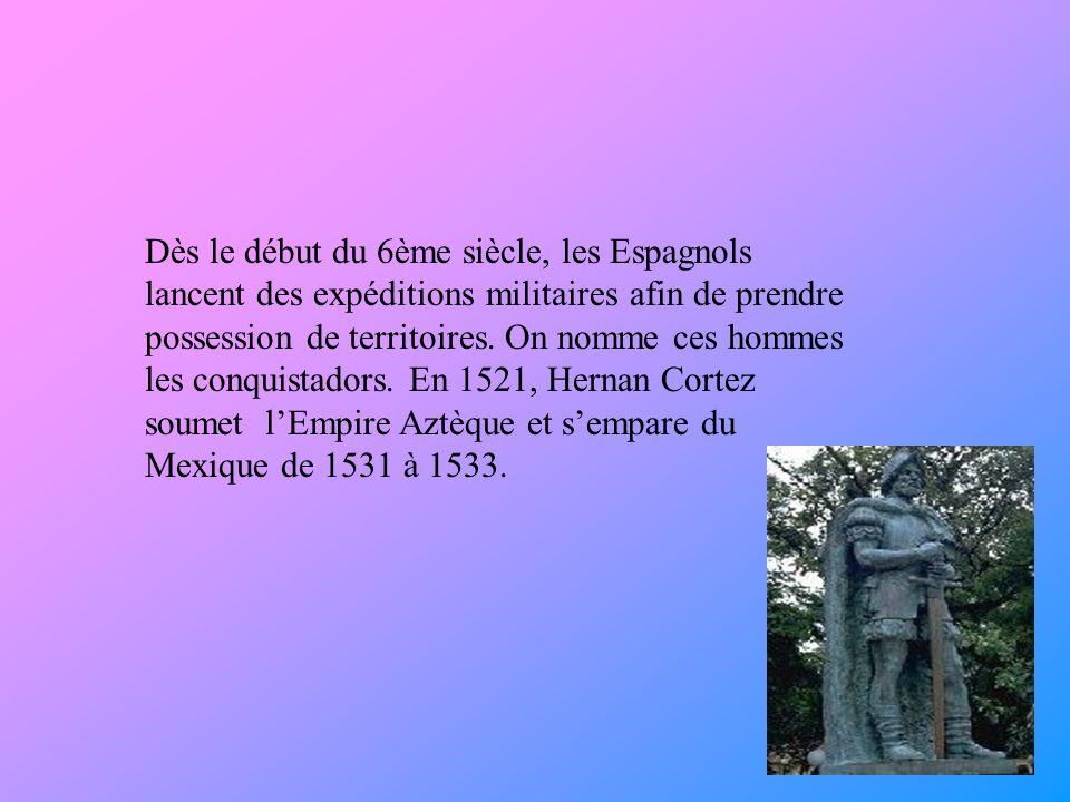 Orellana Francisco de Estémadure partit à la conquête du Pérou en 1538 avec Pizarre Francisco Pizarre.
