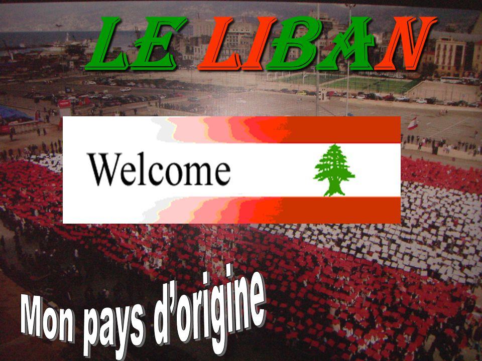 Description Du LIBAN Le Liban est un pays du Proche-Orient, autrefois l antique Phénicie.