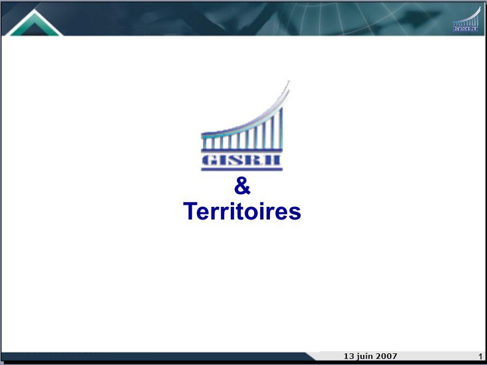 1 13 juin 2007 & Territoires