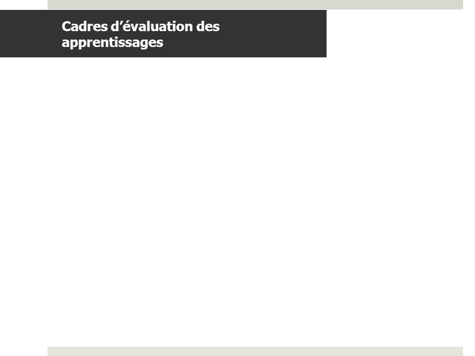 BDGAP-RI- Document de travail Cadres dévaluation des apprentissages.