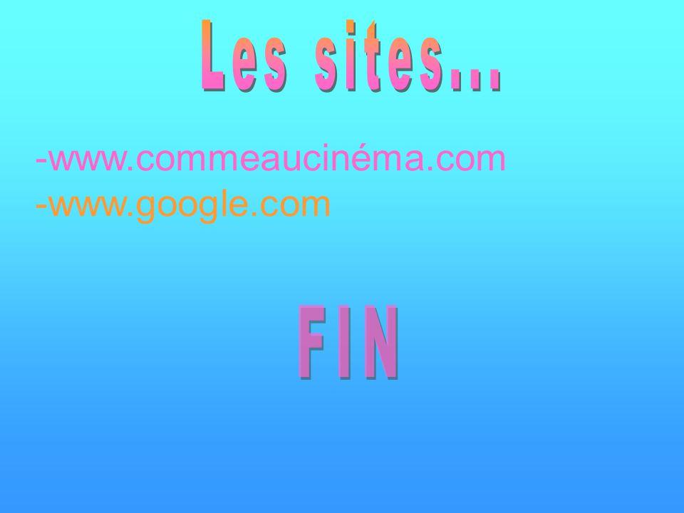 -www.commeaucinéma.com -www.google.com